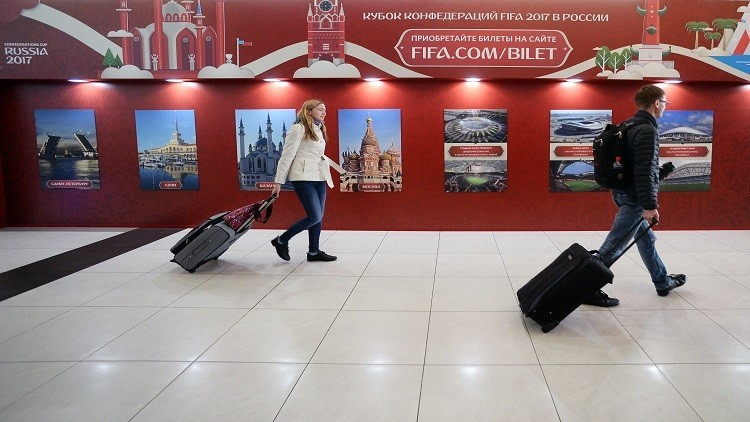 كأس القارات..أكثر من 3 آلاف مشجع أجنبي استخدموا القطارات المجانية