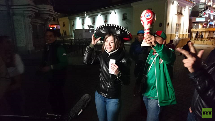 مراسلة كأس القارات بقبعة مكسيكية (صور+فيديو)