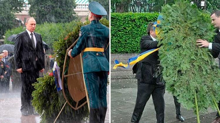 الأمطار حين تفاجئ الرؤساء!