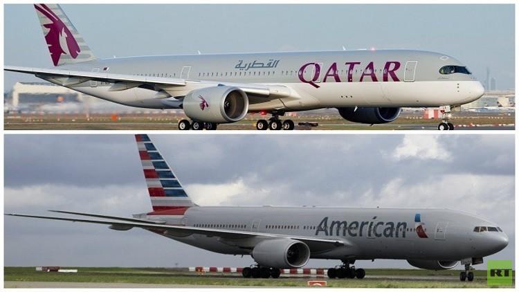 قطر تشتري 10% من الخطوط الجوية الأمريكية
