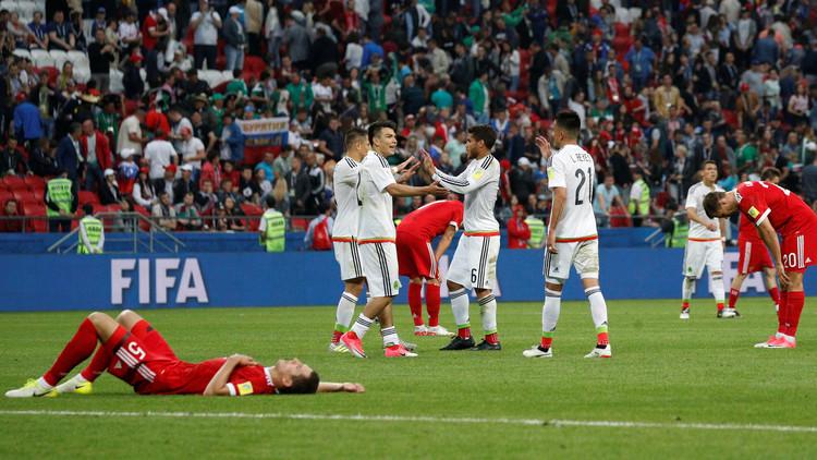 """كأس القارات 2017.. المكسيك إلى """"دور الأربعة"""" وروسيا تودع المنافسة"""