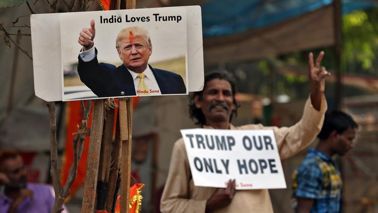 جمعية خيرية للمراحيض تغير اسم قرية هندية إلى ترامب