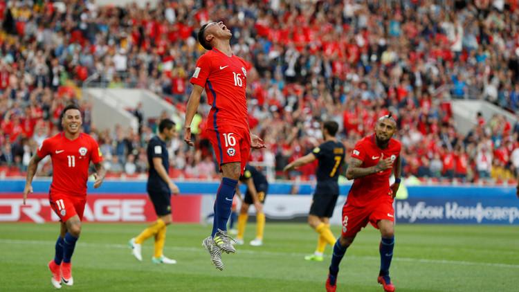 كأس القارات.. تشيلي تتعادل مع أستراليا وتواعد البرتغال في نصف النهائي