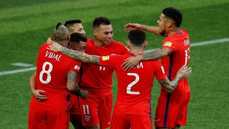 كأس القارات 2017.. لاعبو تشيلي لا يخشون مواجهة رونالدو