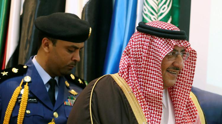 أول ظهور لولي عهد السعودية السابق