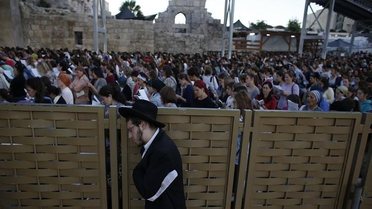 انتقادات لنتنياهو بسبب الصلاة المختلطة عند حائط المبكى