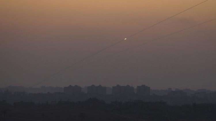 صاروخ من غزة يسقط غربي النقب