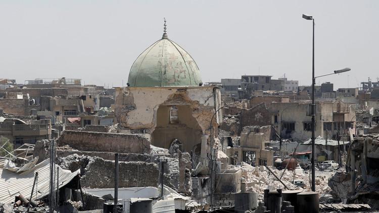 تطهير نصف المدينة القديمة في الموصل من