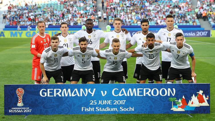 بالصور.. تدريبات ألمانيا قبل مواجهة المكسيك