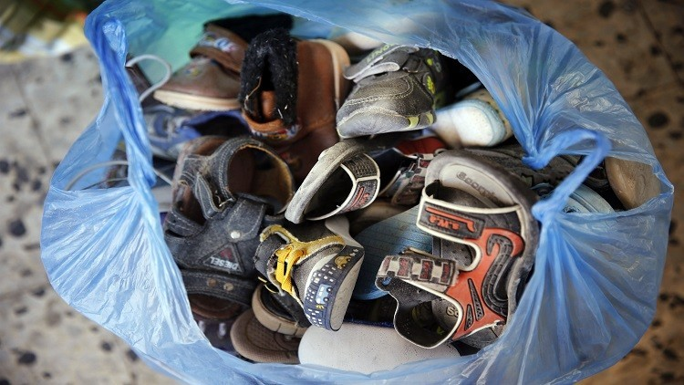 شركة كورية جنوبية تتبرع بأحذية لدول عربية