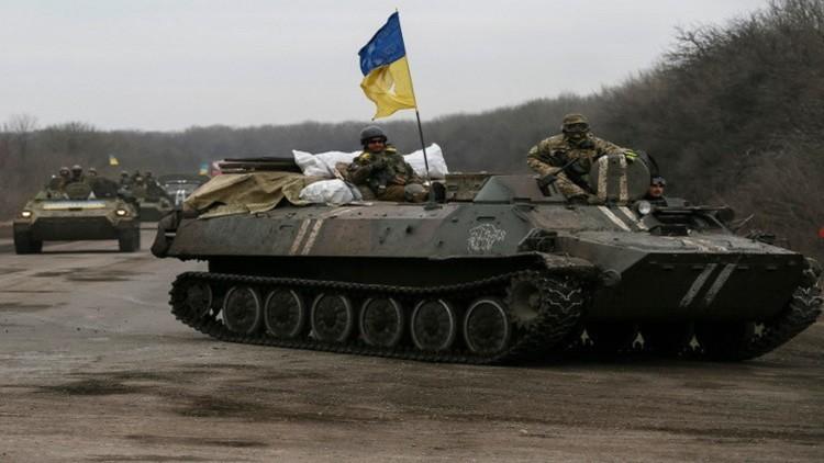 ضابط أوكراني يبيع معلومات جرائم الجيش في دونباس