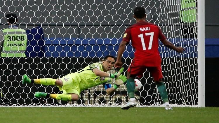 كأس القارات.. برافو أفضل لاعب في لقاء تشيلي وبرازيل أوروبا