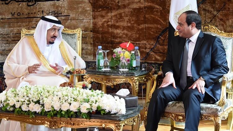 السيسي يتحادث مع الملك سلمان مع قرب انتهاء المهلة الممنوحة لقطر