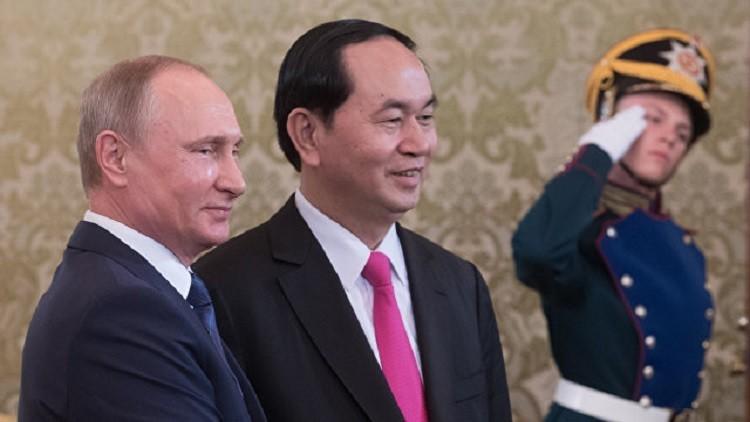 روسيا وفيتنام توقعان حزمة اتفاقيات تعاون