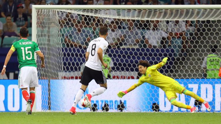 ألمانيا تهزم المكسيك وتبلغ نهائي كأس القارات 2017