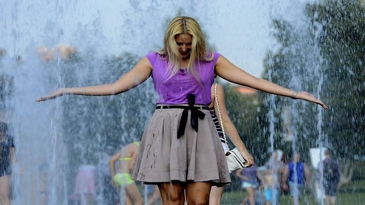 موسكو تشهد الجمعة أدفأ يوم هذا الصيف