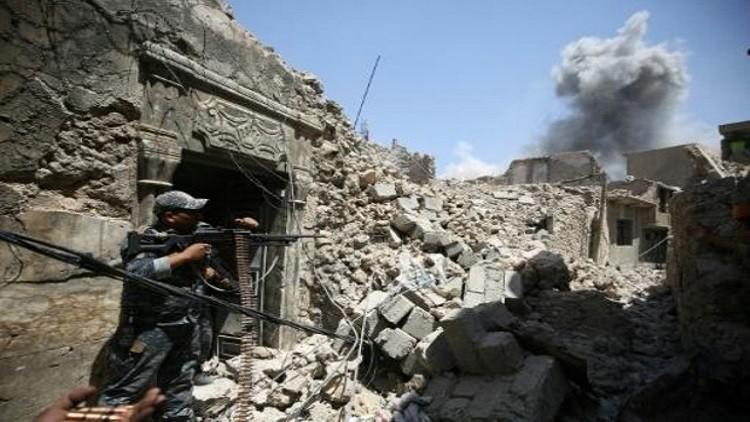 الجيش العراقي يعلن تحرير سوق ومنطقتين في المدينة القديمة بالموصل
