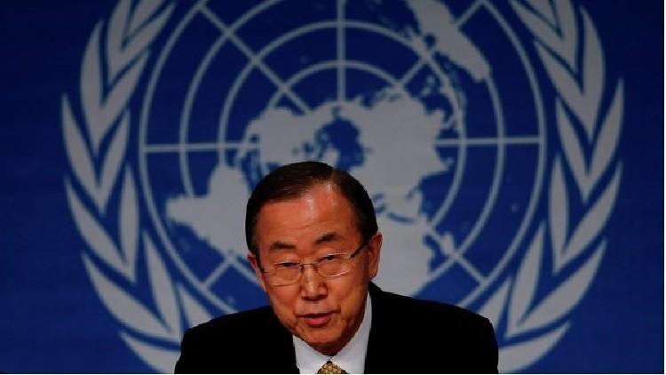 الأمم المتحدة: بان كي مون عضو في