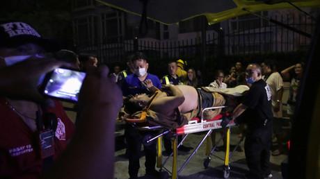 أحد المصابين جراء هجوم مانيلا