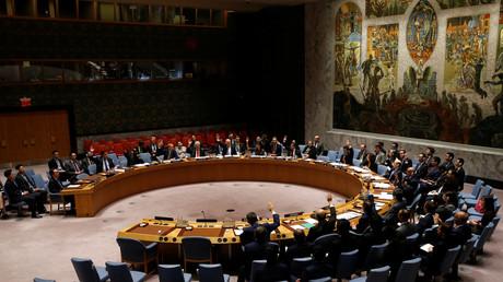 تصويت في مجلس الأمن الدولي على قرار بتوسيع قائمة العقوبات ضد كوريا الشمالية، 2/6/2017