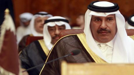 وزير الخارجية القطري السابق حمد بن جاسم آل ثاني