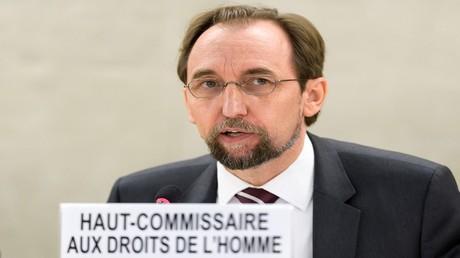 زيد رعد الحسين مفوض الأمم المتحدة السامي لحقوق الإنسان