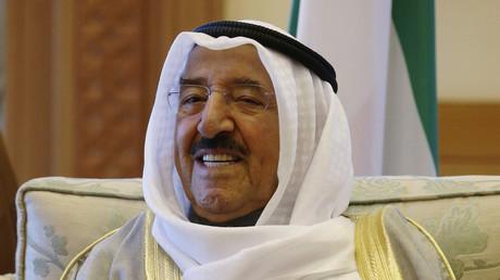 أمير الكويت، الشيح صباح الأحمد الجابر الصباح.