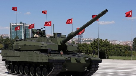 عناصر من القوات التركية