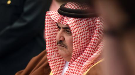 زير خارجية البحرين خالد آل خليفة