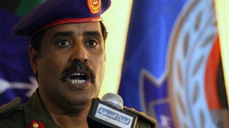 المتحدث الرسمي باسم القوات المسلحة العربية الليبية العقيد أحمد المسماري
