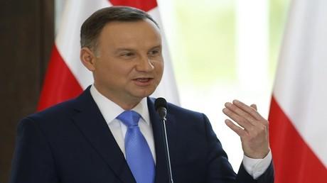 الرئيس البولندي، أنجي دودا