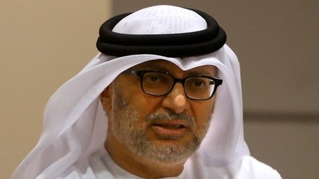 أنور قرقاش وزير الدولة للشؤون السياسية بدولة الإمارات العربية المتحدة