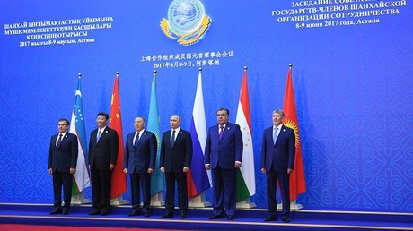 زعماء الدول الأعضاء في منظمة شنغهاي للتعاون