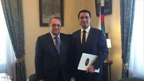 بوغدانوف يستقبل عبد الباسط البدري
