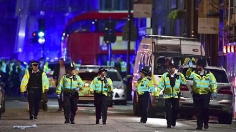 العملية الإرهابية على جسر لندن