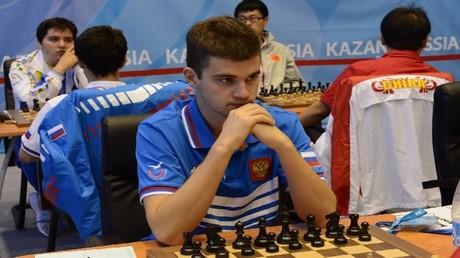 لاعب الشطرنج الروسي مكسيم ماتلاكوف