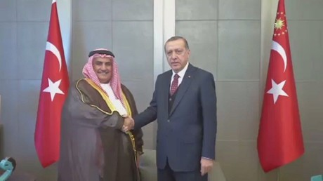 أردوغان يدعو لحل أزمة الخليج خلال رمضان