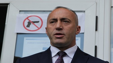 """راموش هاراديناي، مرشح لرئاسة الوزراء وأحد القادة السابقين لـ """"جيش تحرير كوسوفو"""""""