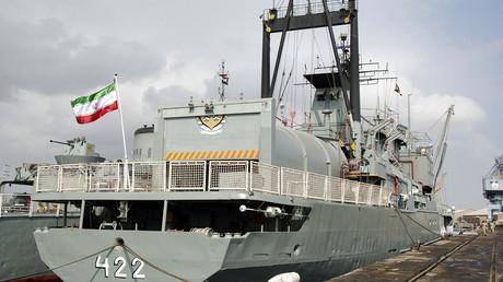 سفينة حربية إيرانية - أرشيف