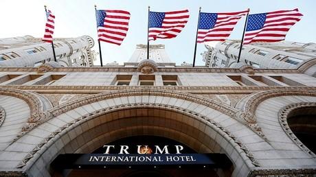 فندق Trump International Hotel بواشنطن في يوم افتتاحه، 12/09/2016