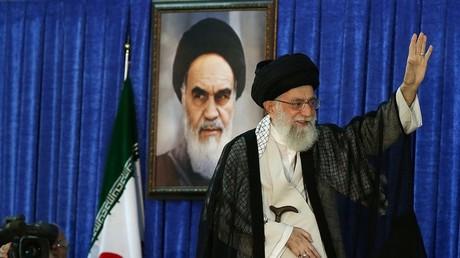 المرشد الأعلى للثورة الإيرانية آية الله علي خامنئي