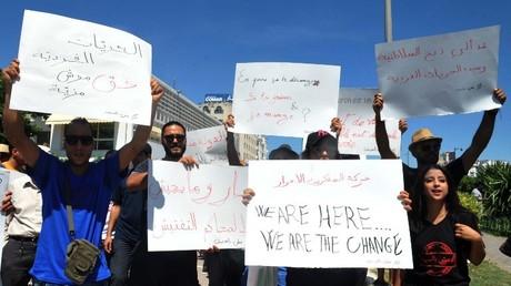 مظاهرة في تونس ضد أحكام السجن بسبب الإفطار العلني