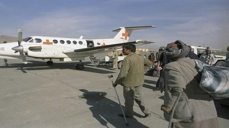 صورة أرشيفية -  الصليب الأحمر الدولي ينقل مساعدات