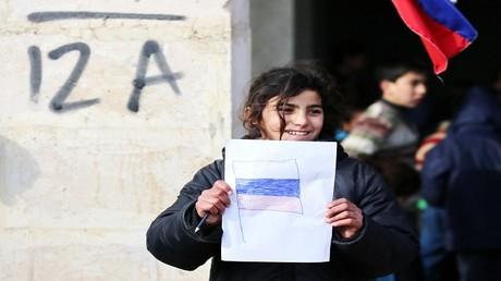 طفلة من حلب