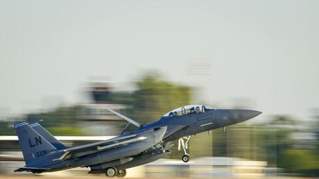 طائرة أمريكية ضمن قوات التحالف