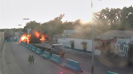 صورة لهجوم سابق في مقديشو