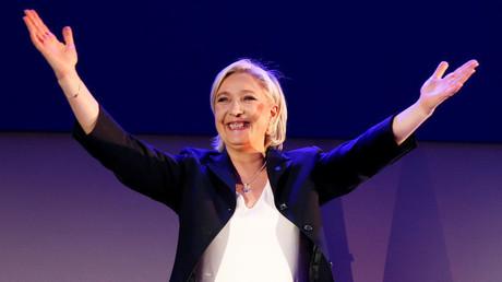 """زعيمة حزب """"الجبهة الوطنية"""" مارين لوبان"""