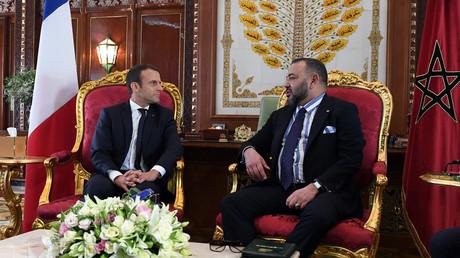 العاهل المغربي والرئيس الفرنسي