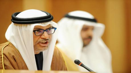 وزير الدولة للشؤون الخارجية في الإمارات أنور قرقاش