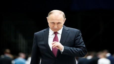 الرئيس الروسي فلاديمير بوتين، موسكو، 15 يونيو 2017